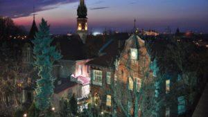 Willa Mira in Krakow in the night